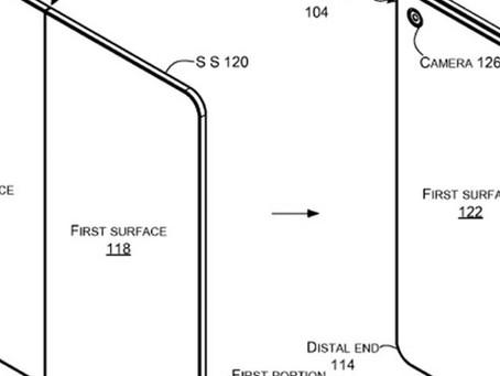 Patente mostra o que pode ser o tablet dobrável da Microsoft [imagens]