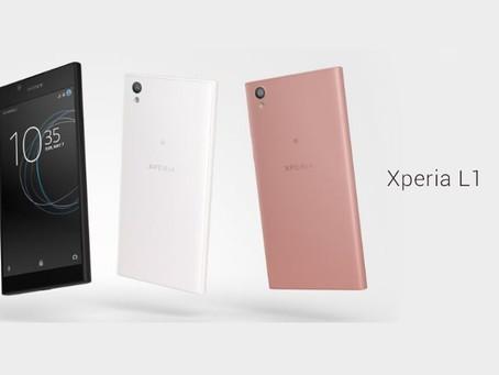Sony apresenta novo Xperia L1, 'acessível' que deve chegar ao Brasil