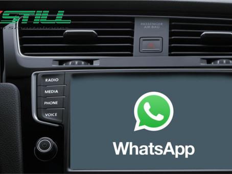 WhatsApp vai poder ser usado para conversar no Apple CarPlay
