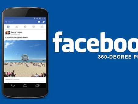 Foto 360: crie imagens incríveis para postar no seu Facebook