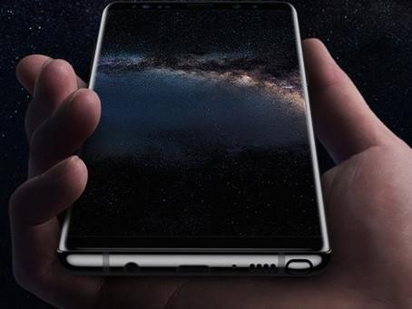 Resolução padrão do Galaxy Note 8 da Samsung é de 1080 x 2220 pixels