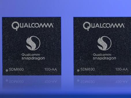 Snapdragon 660 e 630 prometem melhorar conectividade e duração da bateria