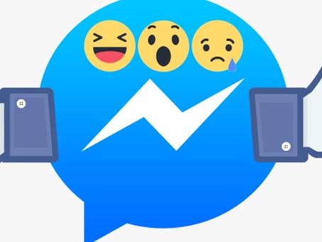 Messenger do Facebook está testando reações e tem até botão 'dislike'