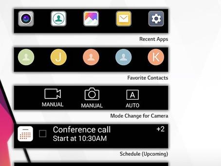 LG V30 deve trocar segunda tela por barra flutuante no display