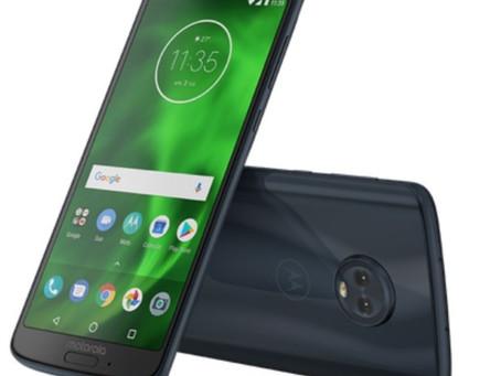 Motorola revela oficialmente a família Moto G6, G6 Play e G6 Plus no Brasil