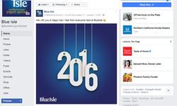 Blue Isle Social Media