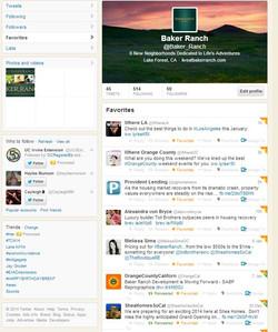 Baker Ranch Twitter