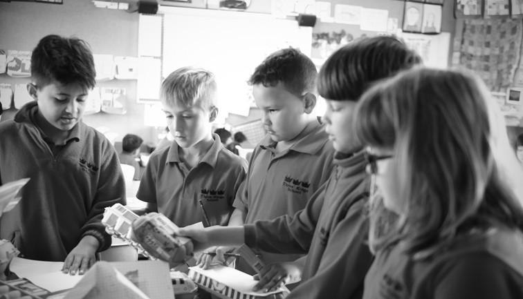 Team project at Three Kings School