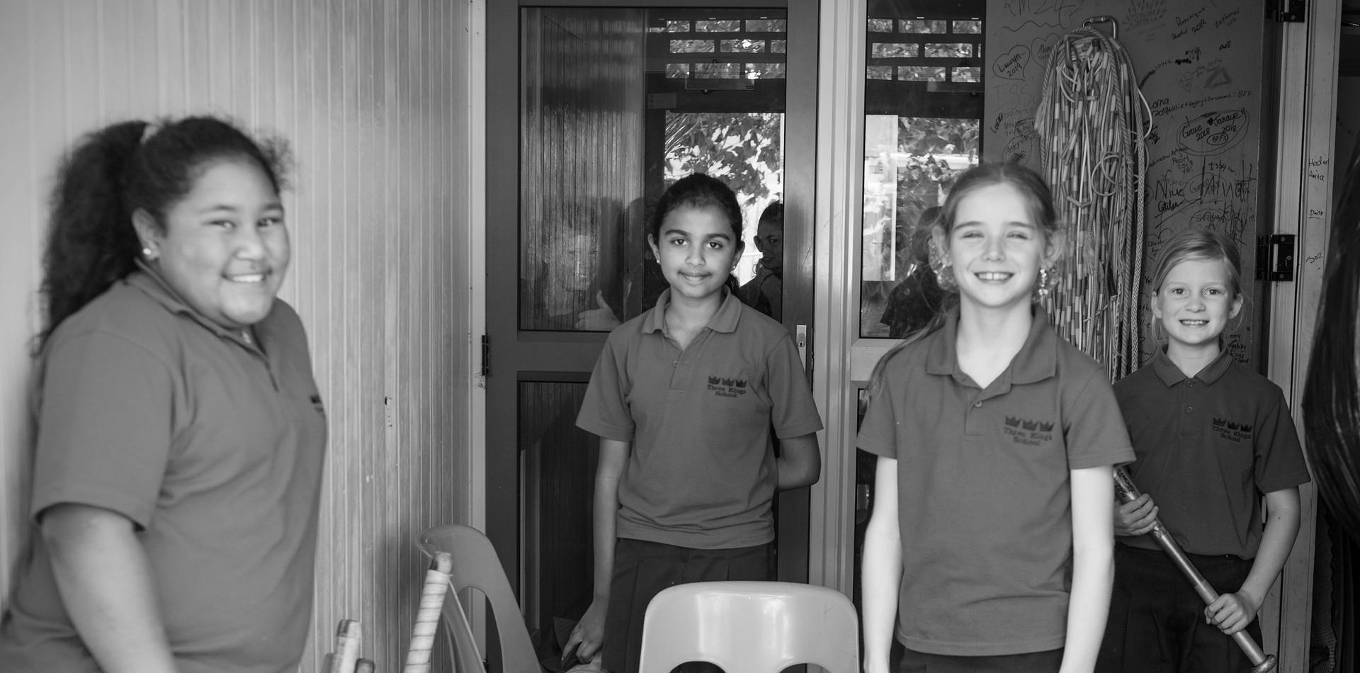 Sports Monitors at Three Kings School