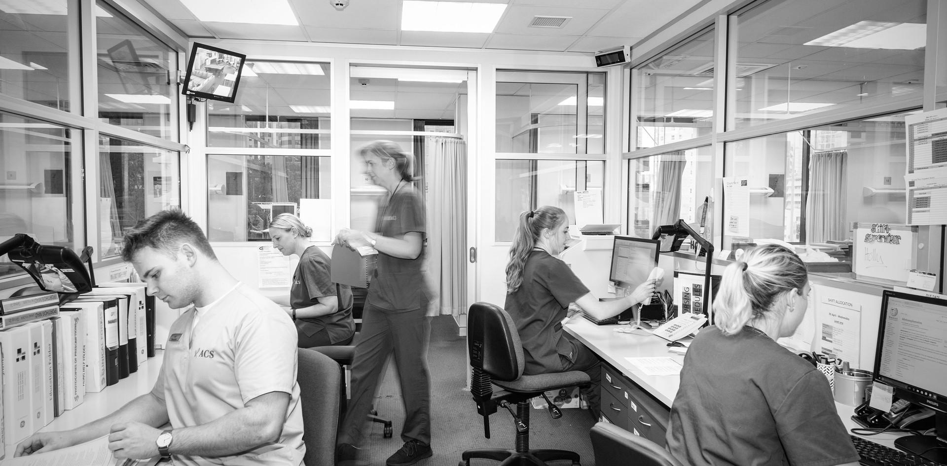 Auckland Clinical Studies Nurse Station