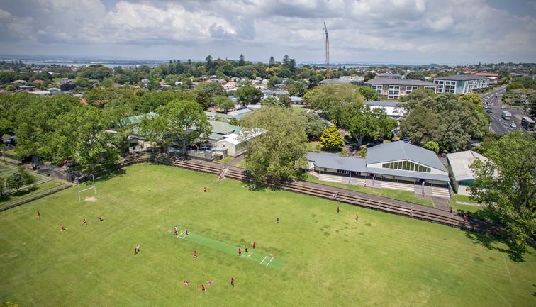 Drone view of Three Kings School