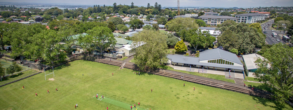 Drone view of Three Kings School