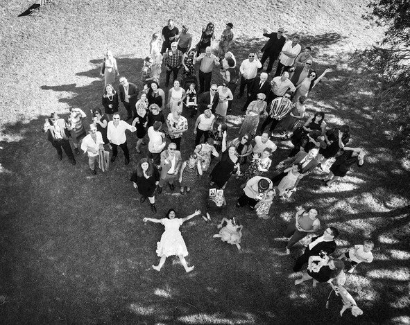Drone wedding group