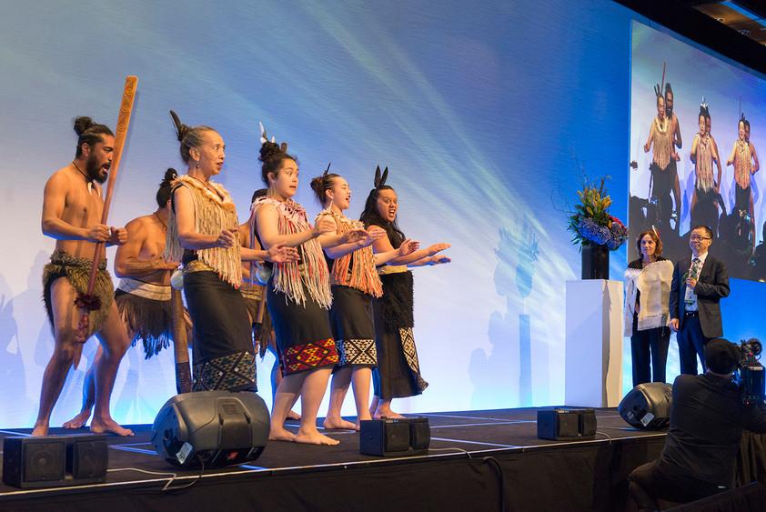 Maori Welcome Ceremony