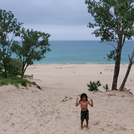 Breathing Through Challenges & Dancing Between Raindrops at Indiana Dunes National Park, INDIANA