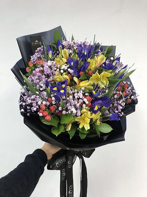 愛麗絲 + 時令配花 花束