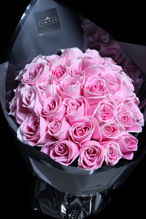 (只限自取) 情人節 30支瑪麗亞玫瑰花束