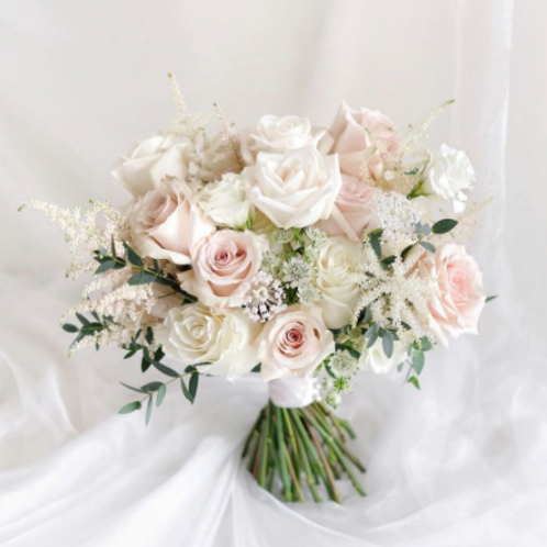 结婚花球 + 襟花 3號款式