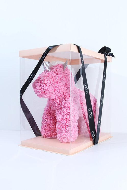 情人節 粉紅玫瑰 獨角獸 【非鮮花】