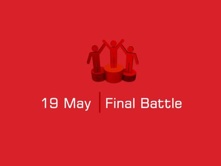 ფინალი: 19 მაისი