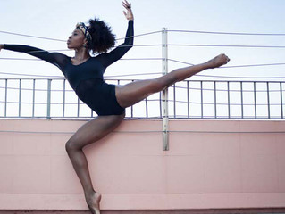"""Ebony Williams Dedicated Dancer"" Feature Article - LA YOGA Magazine"