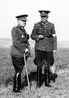 Ludvík Krejčí a Karel Husárek