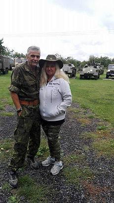 Jan Krinke s partnerkou Ivanou Halamkovou