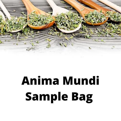 Anima Mundi Sample Bag