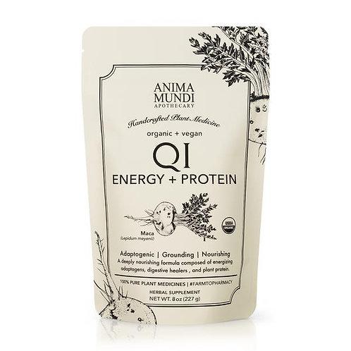 QI Energy & Protein : Adaptogenic Superpowder