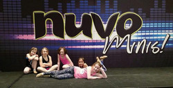 Mini Dancers at Nuvo Convention