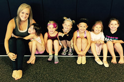 Ms. Heidi and August Dance Campers