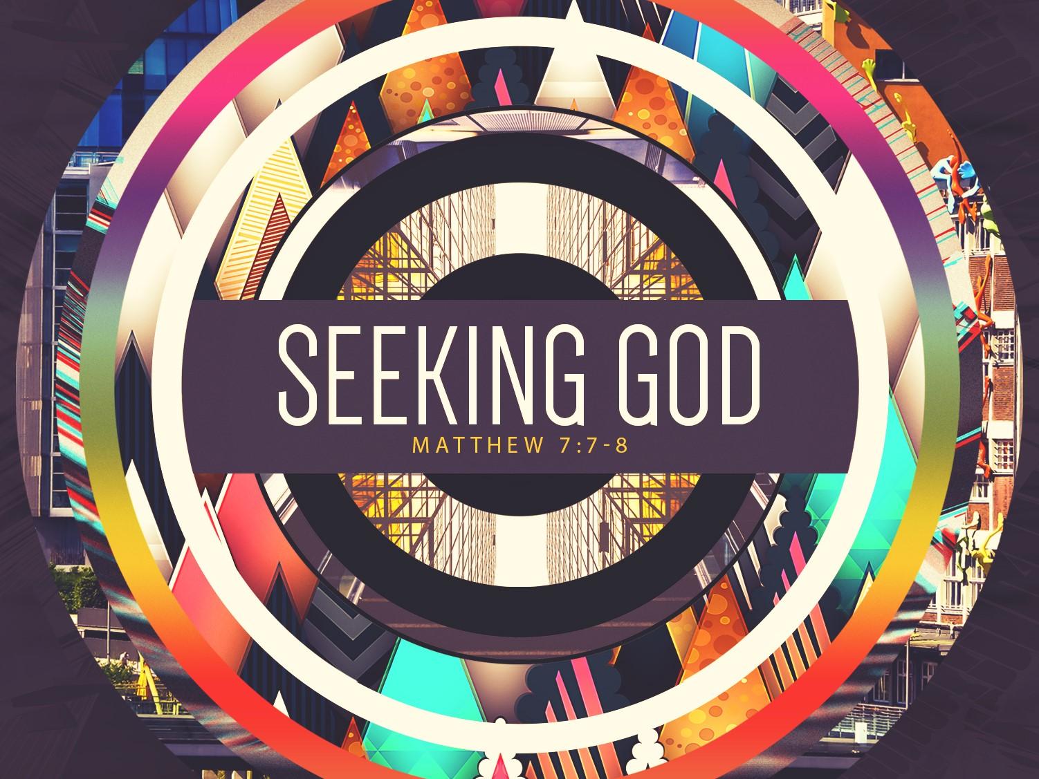 Seeking God Sermon PowerPoint