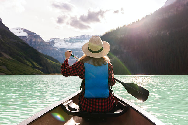 a-woman-paddling-a-boat-in-the-lake-2916