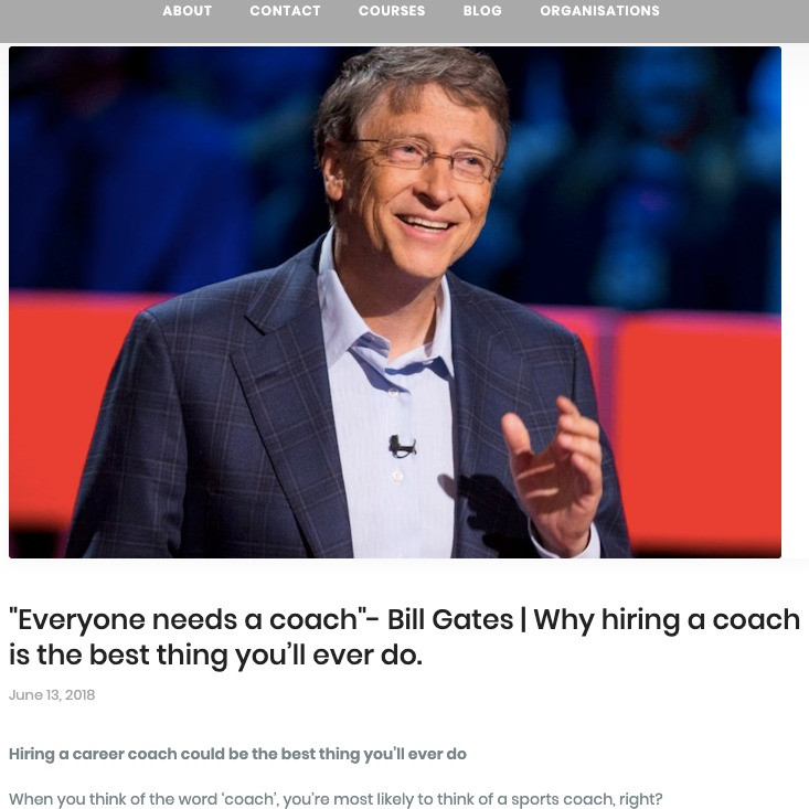 Impact of business coach in entrepreneur's life - Impact of business coaching in entrepreneur's life