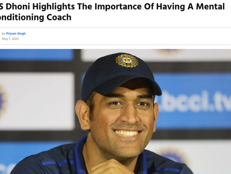 Mental Conditioning Coach for Entrepreneurs & Players inIndia?
