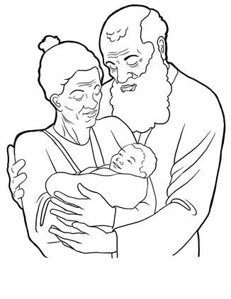 Abraham, Sarah and Issac