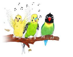 Singing songs. :)