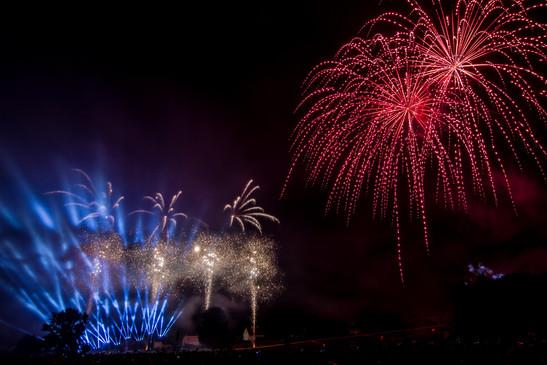 Spectacle Pyromélodique de Rogny-les-Sept-Ecluses