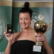 2017 HFNL Open Netball Best & Fairest winner, Jess O'Connor
