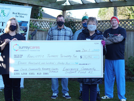 Addiction recovery program's outreach spreads ongoing hope with help from an $11,000 ECSF grant