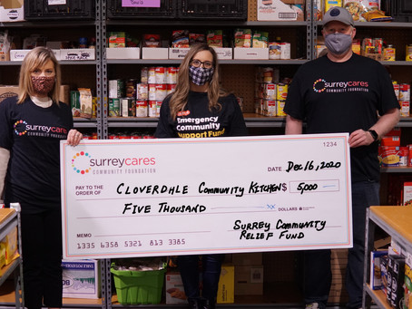 Cloverdale Community Kitchen adapts to this COVID-19 season with help from a $5,000 grant