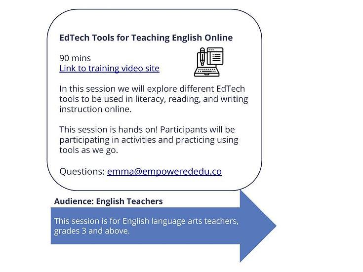 EdTech Tools for Teaching English