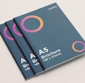 A5 Brochure Luxury