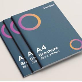 A4 Brochure Stardard