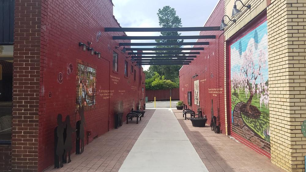The Children's Artwalk in Cherryville