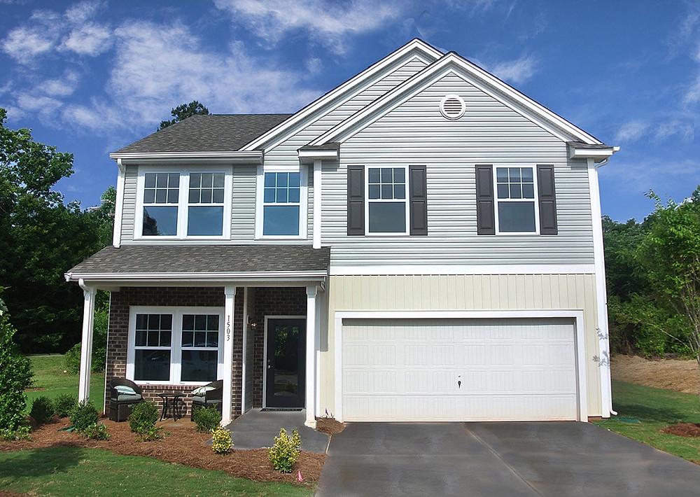 Two story home in Lowell, NC