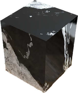 Granitblock Couchtisch