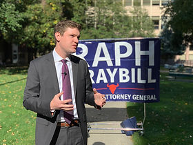 Raph Graybill announces his substance abuse and criminal justice plan.