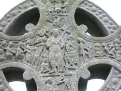 east side of Muiredach's High Cross, Monasterboice Middle of head of