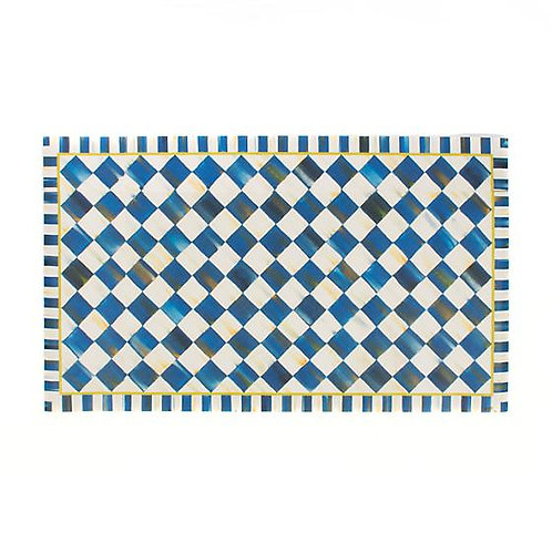 Royal Check Floor Mat - 2' x 3'